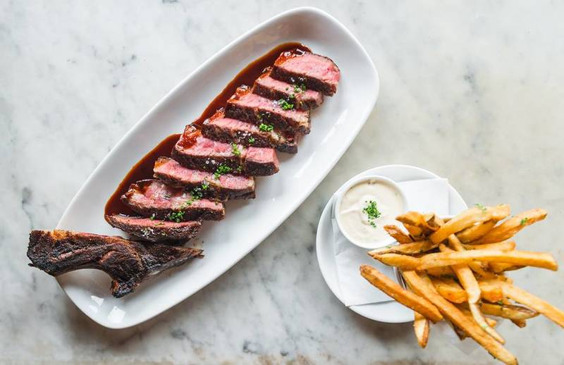 Boeufhaus Steak Frites